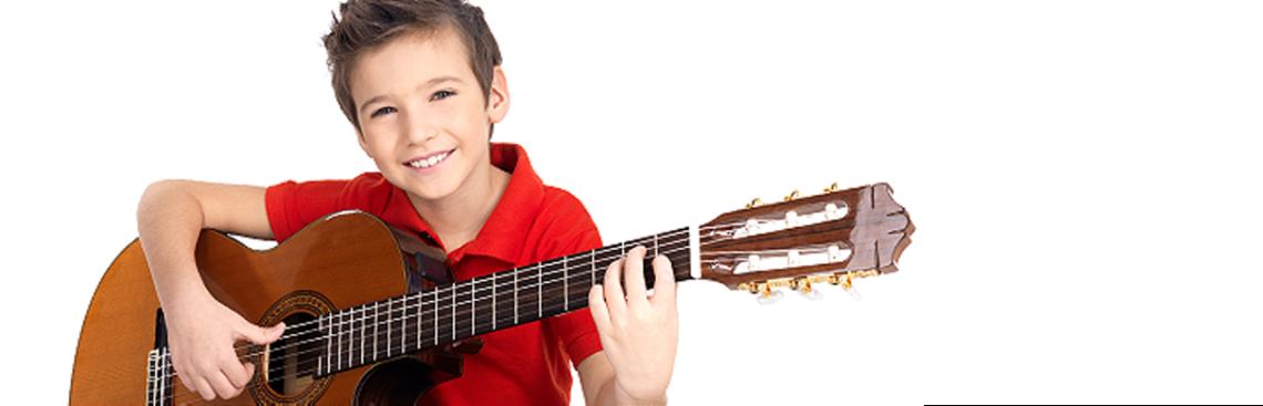 Gitarre Slider weiss
